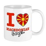 I love Macedonian boys Mug