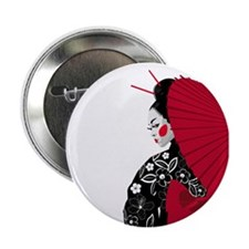 "Geisha 2.25"" Button (10 pack)"