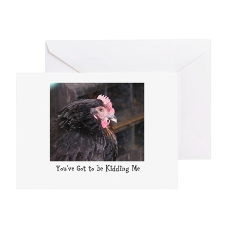 Spring Chicken 1 Greeting Cards