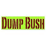Dump Bush Bumpersticker