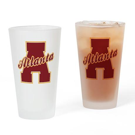 Atlanta Letter Drinking Glass