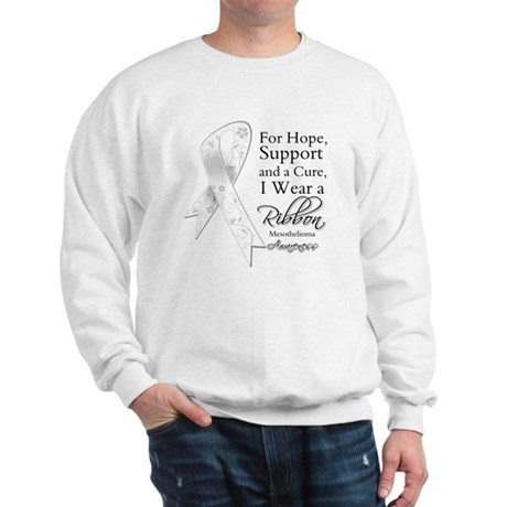 Mesothelioma Ribbon Sweatshirt