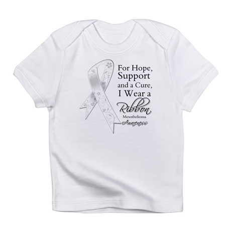 Mesothelioma Ribbon Infant T-Shirt