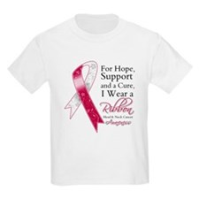 Head Neck Cancer Ribbon T-Shirt