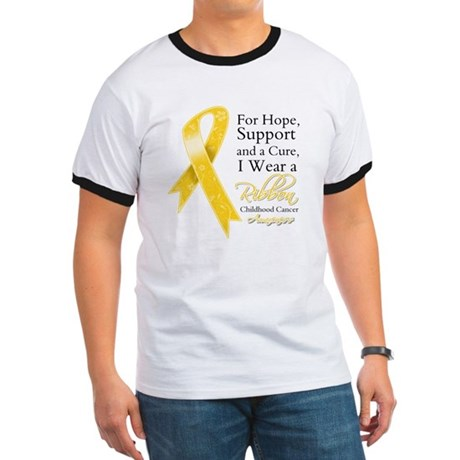Childhood Cancer Ribbon Ringer T