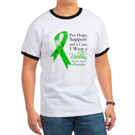 Bile Duct Cancer Ribbon Ringer T