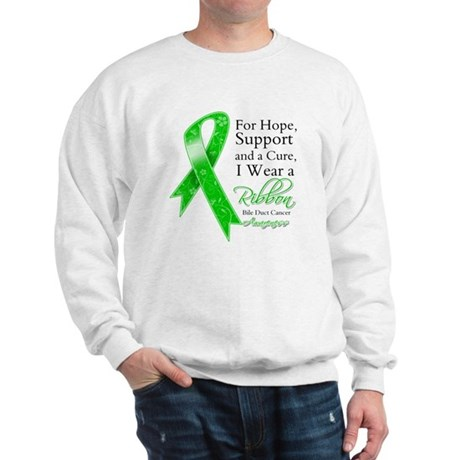Bile Duct Cancer Ribbon Sweatshirt