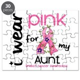I Wear Pink 43 Breast Cancer Puzzle