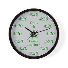 4:20 Wall Clock