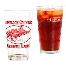 Gamecock Country Jacksonville, Alabama Drinking Gl