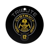 District 12 TRIBUTE Ornament (Round)