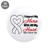 "Bone Cancer Support 3.5"" Button (10 pack)"