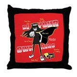 Diagram of a Real Hero Throw Pillow