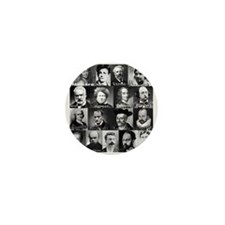 French Lit Faces Mini Button (100 pack)