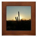 Unique Arizona Framed Tile