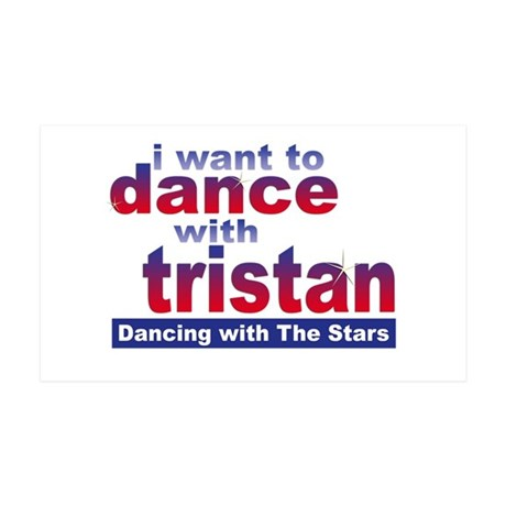 I Want to Dance with Tristan 35x21 Wall Decal