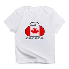 Canada Curling Infant T-Shirt