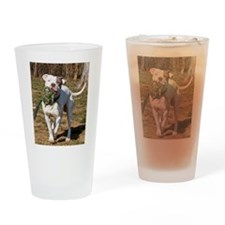 Pit Bull 5 Drinking Glass