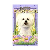 Easter Egg Cookies - Bichon Decal