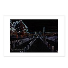 Cool National cemetery Postcards (Package of 8)