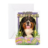 Easter Egg Cookies - Bernie Greeting Card