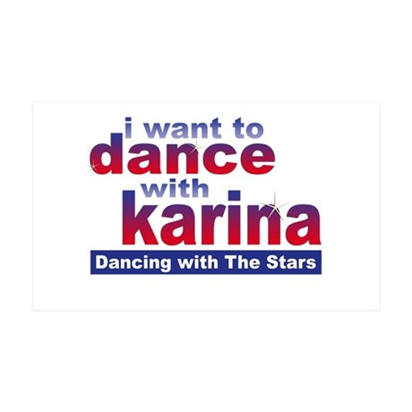 I Want to Dance with Karina 38.5 x 24.5 Wall Peel