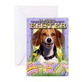 Easter Egg Cookies - Beagle Greeting Cards (Pk of