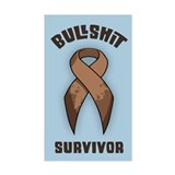 Bullshit Survivor Decal
