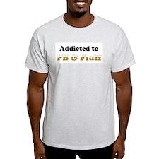 Addicted to PB & Fluff Ash Grey T-Shirt