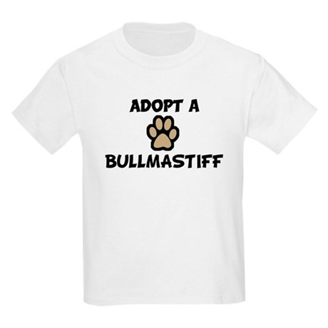 Adopt a BULLMASTIFF Kids T-Shirt