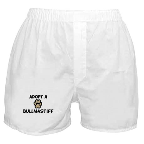 Adopt a BULLMASTIFF Boxer Shorts