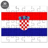 Croatia Flag Puzzle