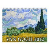 Vincent Van Gogh v3 Wall Calendar