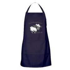 The Lord is my Shepherd Apron (dark)