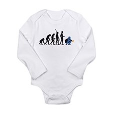Unique Baseball game Long Sleeve Infant Bodysuit
