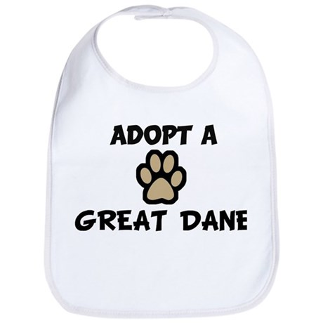 Adopt a GREAT DANE Bib