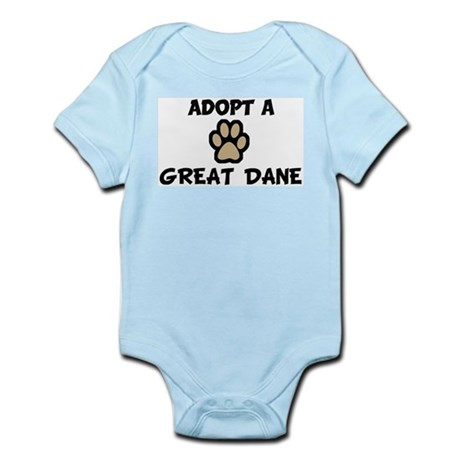 Adopt a GREAT DANE Infant Creeper