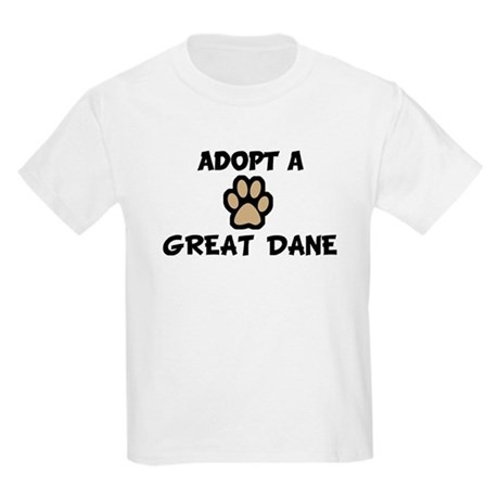Adopt a GREAT DANE Kids T-Shirt