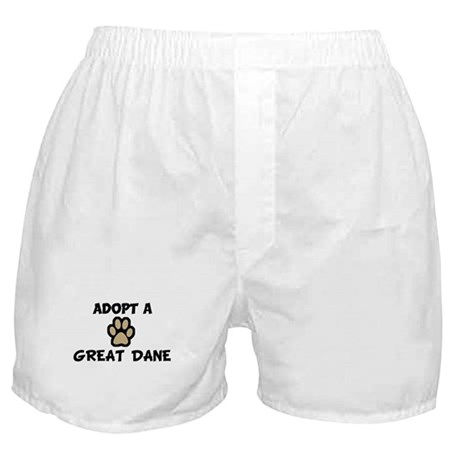 Adopt a GREAT DANE Boxer Shorts