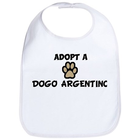 Adopt a DOGO ARGENTINO Bib