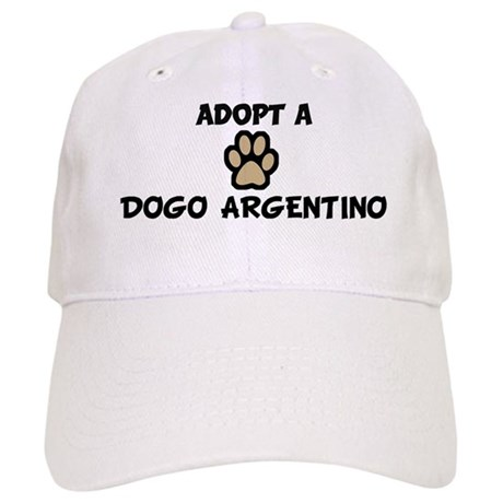 Adopt a DOGO ARGENTINO Cap