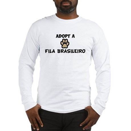 Adopt a FILA BRASILEIRO Long Sleeve T-Shirt