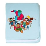 Captain Planet and the Planet baby blanket