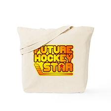Future Hockey Star Tote Bag