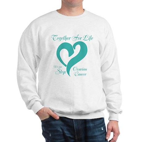 Personalizable Ovarian Cancer Sweatshirt
