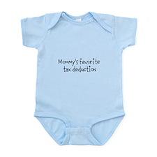 Mommy's Favorite Tax Deductio Infant Bodysuit