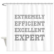 Expert - Slogan. Shower Curtain
