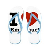 I love Emmanuel Flip Flops