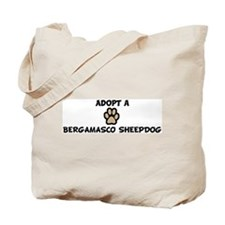 Adopt a BERGAMASCO SHEEPDOG Tote Bag