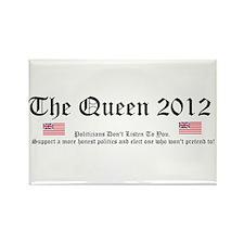 Queen 2012 - Honest Politics Rectangle Magnet